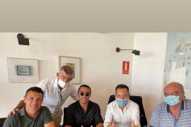 Encuentro en Can Botino del chef Salt Bae con Amadeo Salvo y Rafa Ruiz