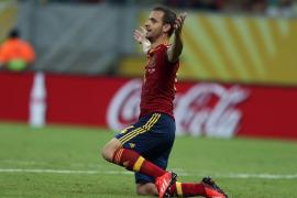 España se exhibe ante Uruguay (2-1)