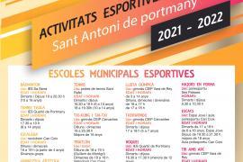 Vuelven las escuelas deportivas municipales a Sant Antoni