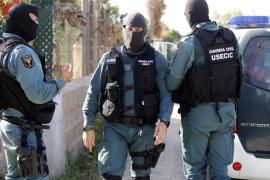 Gran operación policial internacional contra la delincuencia con nueve registros en Palma
