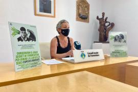 Más de 250.000 m² de posidonia son apadrinados en Formentera desde 2017 con donaciones de particulares y empresas