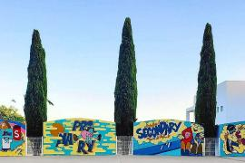 Arte urbano para hacer más amena y divertida la vuelta al cole en Morna International College