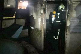 700 turistas desalojados por un fuego en el spa de un hotel de Mallorca