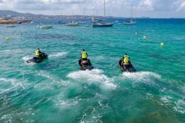 La Unidad de Playas de la Policía de Sant Antoni ha interpuesto 327 denuncias en dos meses