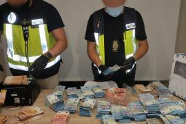 Descubren 310.000 euros a los narcos colombianos detenidos en Palma con 5 kilos de cocaína