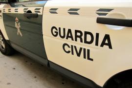 La Guardia Civil investiga la muerte de un hombre de 74 años hallado entre unos almendros en Mallorca