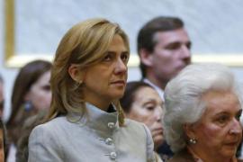 La infanta Cristina reaparece públicamente junto a la Familia Real en una misa por Don Juan