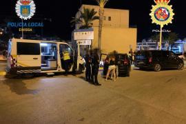 39 denuncias en Vila por consumir alcohol en la calle y dos detenidos por intentar robar en un restaurante