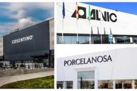 Cosentino, Porcelanosa y Alvic, referentes mundiales españoles en el sector de la decoración