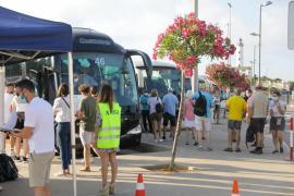 La mayoría de los municipios de la isla de Ibiza está en riesgo alto de contagios