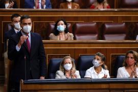 Sánchez acusa a Casado de seguir crispando al pedirle de nuevo su dimisión