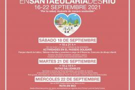 La Semana Europea de la Movilidad llega a Santa Eulària con Educación Vial y rutas saludables