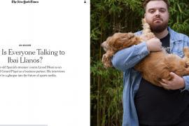 Ibai Llanos conquista al 'The New York Times'