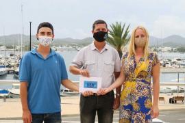 Los organizadores de 'New Moves' entregan 375 euros a la asociación Ibiza In