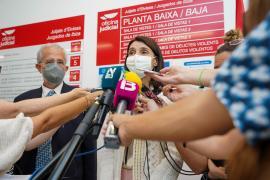 La visita de ministra de Justicia, Pilar Llop, en imágenes. (Fotos: Marcelo Sastre)