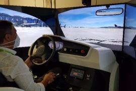 El aeropuerto de Ibiza contará con un simulador de conducción de aeronaves