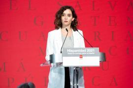 Ayuso defiende la importancia de potenciar el español desde Madrid