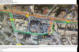 Sant Josep y el Consell continúan su batalla dialéctica por el servicio de bus