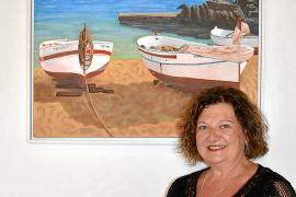 La pintura vitalista y emotiva de Fina Escandell llega a Ses Casetes