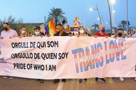 Marcha reivindicativa por los derechos LGTBIQ+