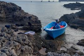 Desembarcan 57 inmigrantes en Formentera en tres pateras