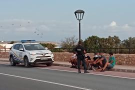 Detenidos dos patrones de una patera llegada este lunes a Formentera
