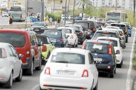 Eivissa pone freno a la masificación viaria