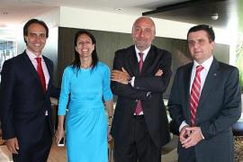 Entrega de la Esfera d'Honor de Mallorca Convention Bureau a Marilén Pol