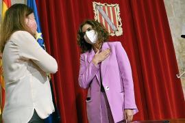 La presidenta Francina Armengol y la ministra María Jesús Montero
