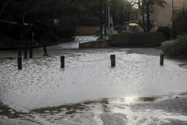Las lluvias dejan 118 litros por metro cuadrado en Baleares, la mayoría en Ibiza