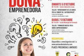 El Club de Feina de Santa Eulària lanza dos talleres dirigidos a las mujeres emprendedoras
