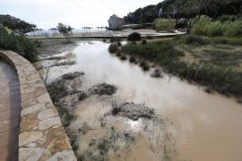 Inundaciones en Cala de Sant Vicent