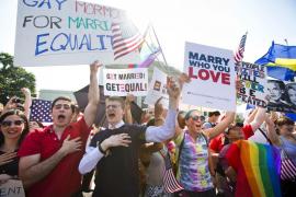 EEUU deroga la ley que definía el matrimonio como unión de personas de distinto sexo