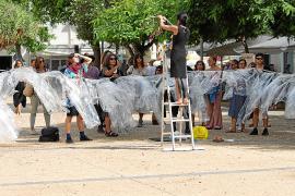 Territori Festival lleva sus performances hasta el Paseo Vara de Rey de Ibiza