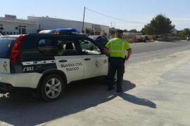 Detenida una conductora que huyó tras embestir y dejar malherida a una motorista en Formentera