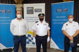 El Govern concede a los policías tutores de Santa Eulària su sello de calidad para este curso