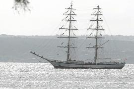 El buque escuela 'Fryderyk Chopin' recala en Palma