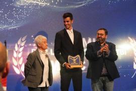 Marc Tur, galardonado en los premios 'Patrocina un Deportista'