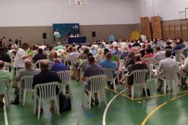 Tolo Gili, presidente del PI balear en un congreso que refleja la división interna