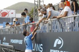 Las mejores imágenes del partido entre la UD Ibiza y el Burgos CF (2-0).