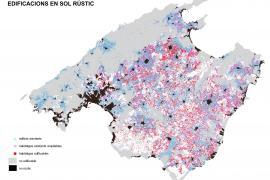 La edificación en rústico puede reducir un 25 % superficie agraria de Mallorca