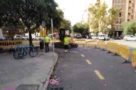 Cort comienza las obras de mejora de la plaza Guillem Moragues de Pere Garau