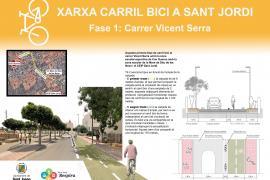 Sant Josep habilitará un nuevo carril bici en Sant Jordi