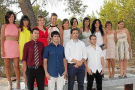 Primera promoción de graduados en Enfermería de Eivissa