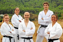 Un nuevo club de karate en la isla