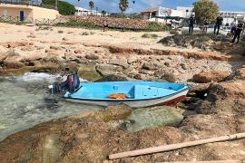 Llega una nueva patera a Formentera con 13 migrantes de origen magrebí