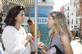 La secretaria de Estado de Turismo promete finalizar el parador de Eivissa, pero no da fechas