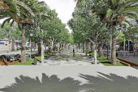 La peatonalización de s'Alamera de Santa Eulària empezará después del verano