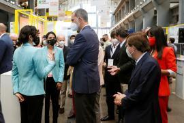 El Rey reivindica el gran dinamismo de los emprendedores españoles