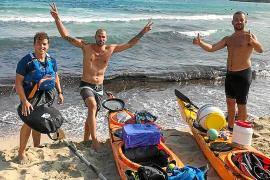 140 kilómetros en kayak para recoger basura del mar